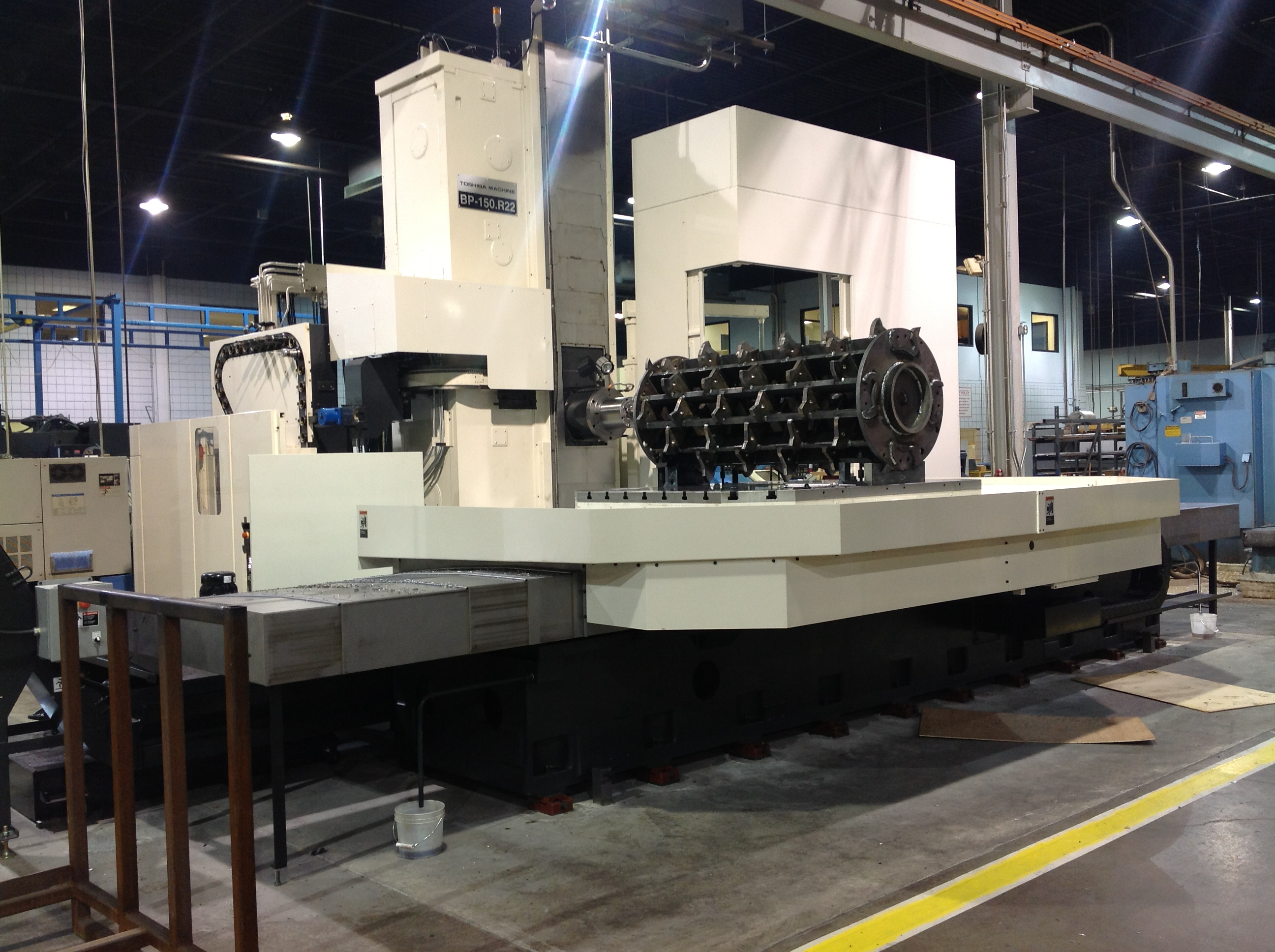 Stillwater 187 New Acquisition Toshiba Bp 150 R22 Cnc
